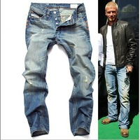 [8873] Size 28-38 New 2014 Autumn Wash Water Brand Designer Jeans Men Denim Pants Loose Trousers Fast Shipping DHL UPS