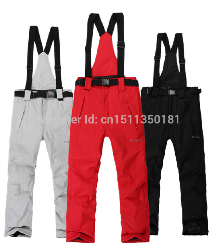 free shipping new 2014 waterproof ski pants men high quality snowboard men winter pants(China (Mainland))