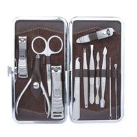 12 PCS Pro Nail Manicure Care Pedicure Set Grooming Nail Art Clipper Kit Tool