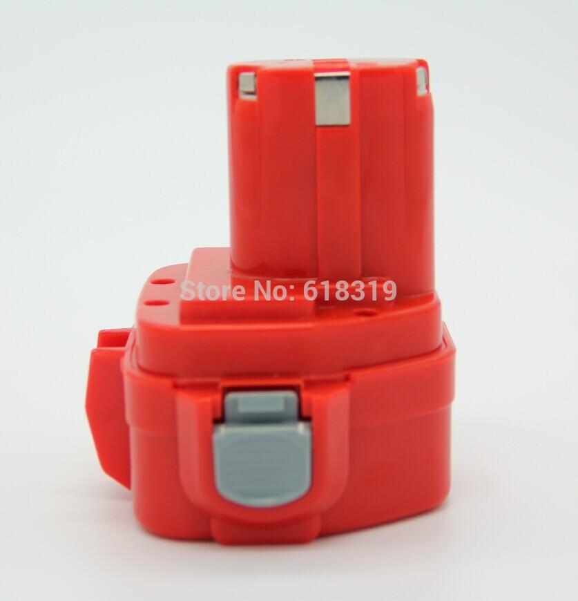 Hi-quality 10 Packs Makita power Tool BATTERY Ni-MH 12V 2000m Ah ML: 1220 by Fedex(China (Mainland))
