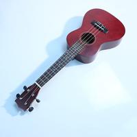"23"" Acoustic Soprano Hawaii Rosewood guitar Ukulele Musical Instrument Wine Red Free Shipping"