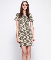 S-XXL Elegant Work Dress Women Lady Slim Casual Dress Office Career Dress Party dress 2014 New Fashion Summer Autumn C9ML130