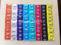 HOT!!100 pcs / lot Durex Condoms Sex Products All English durex condoms Without Chinese Font Large Size english durex 8 colors