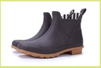 Fashion short light rain boots rainboots clear rain shoes rain shoes rubber shoes