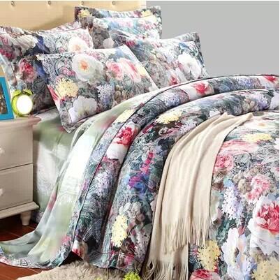 2014 duvet hot sale bedclothes/cotton jacquard bedding set/bed linen/bed sheet/bed set/frozen comforter set/quilt cover/designer(China (Mainland))