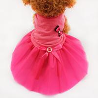 Armi store Dog Pet Bow Party Skirt Clothes Tutu Layered Princess Dress Hot 71009 Free Shipping
