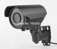Free Shipping 1200TVL CMOS CCTV Camera IR CUT OSD Menu 2.8-12MM Varifocal Zoom Lens Outdoor Surveillance Camera