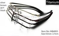 2014 fashion men's pure titanium optical frame for filling a prescription,wholesale&retail glasses for men