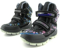 2014 winter children's winter shoes for boys girls  Kids riding /Martin boots  Cotton padded Ankle snow  boots