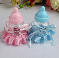 2014 new lembrancinhas de casamento 12pc/lot hot sale baby feeding bottle weding favor accesseries party shower marriage gifts