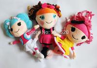25cm MGA Lalaloopsy Plush Dolls Lalaloopsy girls stuffed toys