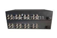 SDI/ ASI over fiber for broadcast ,SDI to fiber converter 8CH DVB-ASI