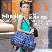 Fashion multifunctional nappy bag large capacity maternity one shoulder double-shoulder Large cross-body bag 19