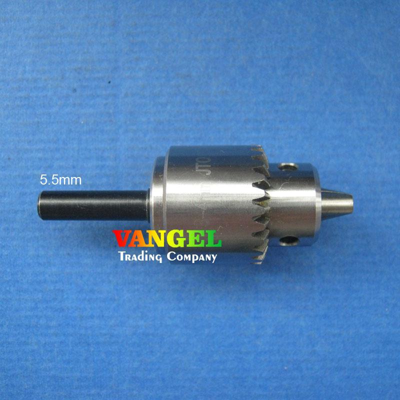 mini drill chuck 0.3-4mm JT0 high precision with 5.5mm Connecting rod diameter pcb mini drill press(China (Mainland))