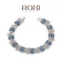 Roxi jewelry austria crystal blue black color crystal bracelet  20600081670