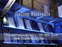 10pcs/lot Digitizer Touch Screen Glass lens FOR Lenovo A660 Black