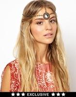 Hair Chain Hair Band Palace Retro Rhinestone Hollow Flower Hairband Wedding Headband Hair Accessories Jewelry For Women Headwear