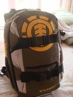 NEW ARRIVAL -FREESHIPMENT  -BACPACK SHCOOL BAG -SKATE BAG Element color block backpack skateboard bag travel bag school bag