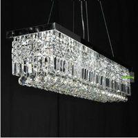 120CM Modern crystal pendant lamp Gold Finish Ceiling Light Chandelier  lighting
