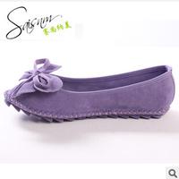 2014 sweet bowknot women 's shoes candy color women' s shoes single shoes 628