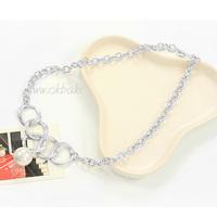 Pearl pendant necklace accessories female short design chain female accessories necklace