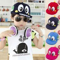 Free Shipping 2014 Summer new boy/girl Children's Summer bilayer outdoor dinosaur hat baseball cap hip-hop hat