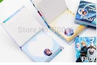 wholesale,FREE SHIPPING 2 Boxes/ 24 Pcs Frozen  Frozen notepad memo pad