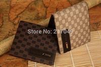 2014 Male PU Leather Casual Short Design Wallet, Card holder Zipper pocket Fashion Purse for men