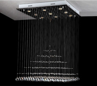 Free shipping   Modern Crystal Pendant Lamp Lighting Fixture aslo for wholesale