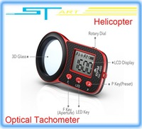 SkyRC Helicopter Optical Tachometer 3D glass screen 5 presets of Flashing Frequency/RPM for rc drone aircraft  low sh helikopter
