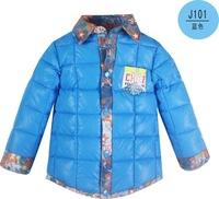 2014 autumn winter children's Outerwear & Coats boys casual jackets baby boy outwear kids clothes for 3-6Y free shipping