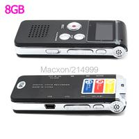 8GB MP3 Player Voice Recorder USB Digital Audio Voice Sound Recorder