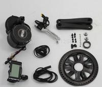 2014 latest Bafang BBS-01 mid drive motor/engine kits(36v 350w)