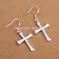 Free Shipping Wholesale fashion jewelry Earrings ,925 Sterling silver Earrings .  QE305