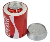 free shipping Cola bucket usb refrigerator mini refrigerator usb refrigerator usb small household refrigerator gift