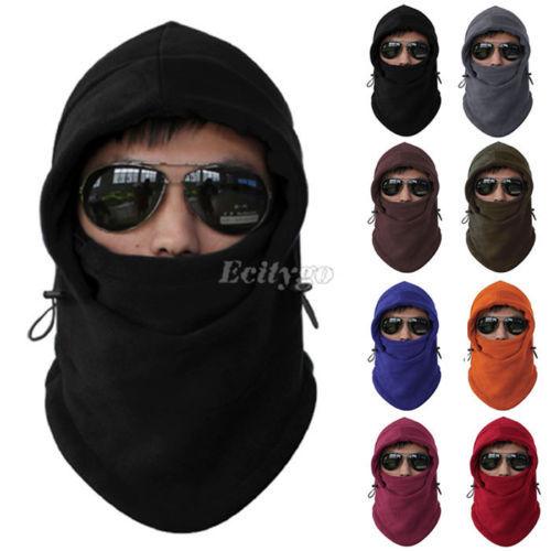 2014 Fleece Thermal Sports Motorcycle Bike Balaclava Ski Face Mask Hood Hat cap beanie Helmet 8 Colors Free Shipping(China (Mainland))