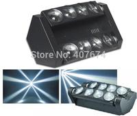 New Arrival  ADJ Dual Head 8pcs*10W White Color LED Pixel Moving Head Beam Bar Light,Moving Head Bar,Spider LED Effect Light
