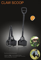2014 NEW DESIGN  foldable  dog poop claw scooper/ pet waste bag claw scooper