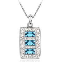 Full rhinestone pendant chain crystal accessories