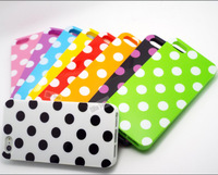 MVN71: Polka Dot Dots Spot Silicon Soft TPU Cover Cases For Apple iPhone5 iPhone5S Case For iPhone 5 iPhone 5S 5G Shell JHSDDD-0