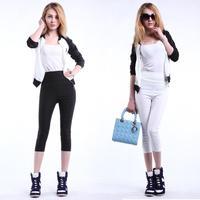 Size S,M,L,XL,2XL,2014 spring and summer yard elastic waist pant feet pants casual Korean version Bottoms women pant