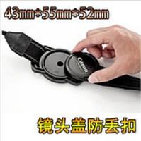 Anti-lost SLR camera lens cap strap buckle buckle Anti-lost lens cap clip 43mm.55mm.52mm
