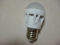 Sound control 3W E27 led bulb  Plastic shell voice control safe indoor light cheap energy saving lamp