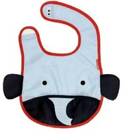 Hot selling! ZOO Story Waterproof baby bib ,Burp clothes.8 styles,can choose styles for baby.Free shipping