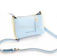 New 2014 Leather Women's Messenger Bag Women Handbag Satchel Shoulder Cross Body Candy color Bag Purse Tote Bolsas Free Shipping