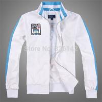 Free shipping!Polomargao 2014 Argentina Polo new style jacket, men's jacket, combed cotton embroidery production