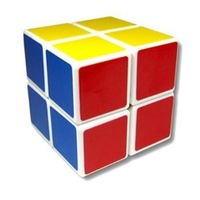 Free shipping Shengshou magic speed cube 2x2x2 puzzle cube 2x2x2-layer white/black