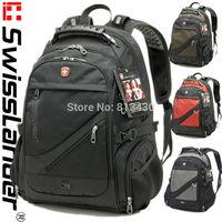 15.6 inch SwissLander men Laptop backpacks,Swiss notebook bagpacks,executive backpacks,computer backpacks,school bags 1418