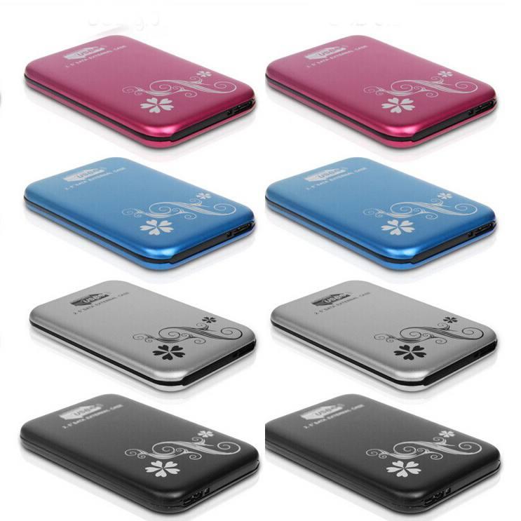 """2.5"""" 2.5 inch USB 3.0 HDD Case Hard Drive Disk SATA External Storage Enclosure Box freeshipping dropshipping Wholesale(China (Mainland))"""