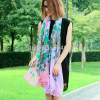 Desigual 2014 New designer cashew flowers scarves 6 colors Fashion Women Scarves Long Voile Scarf Swap Shawl Hijab